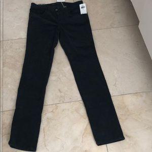 J Brand black corduroy jeans. Size 26